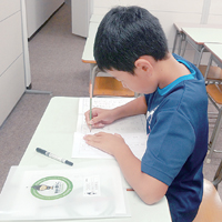 書き方練習 集中