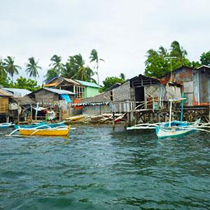 フィリピンセブ島離島村