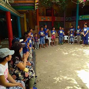 フィリピンセブ島スタディツアー孤児院訪問