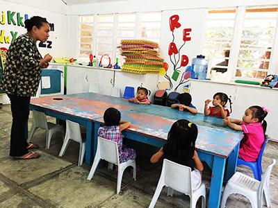 フィリピンセブ島スタディツアー山の学校